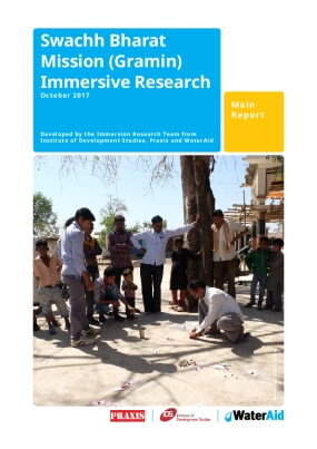Swachh Bharat Mission (Gramin) Immersive Research