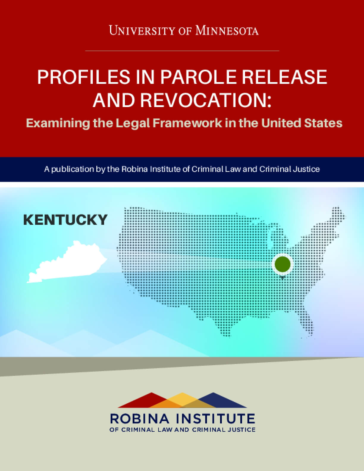 Profiles in Parole Release and Revocation Kentucky