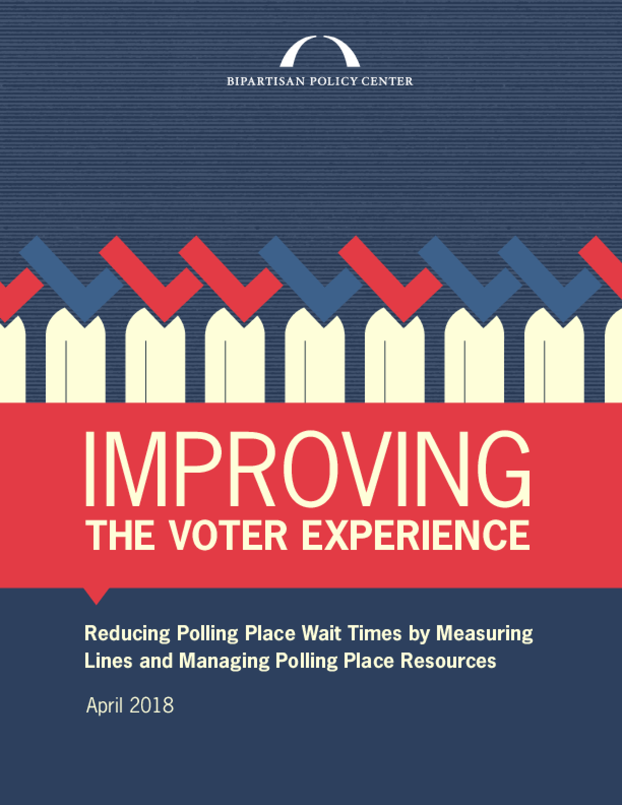 Improving the Voter Experience: Reducing Polling Place Wait Times by Measuring Lines and Managing Polling Place Resources