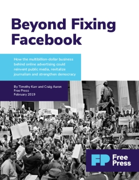 Beyond Fixing Facebook
