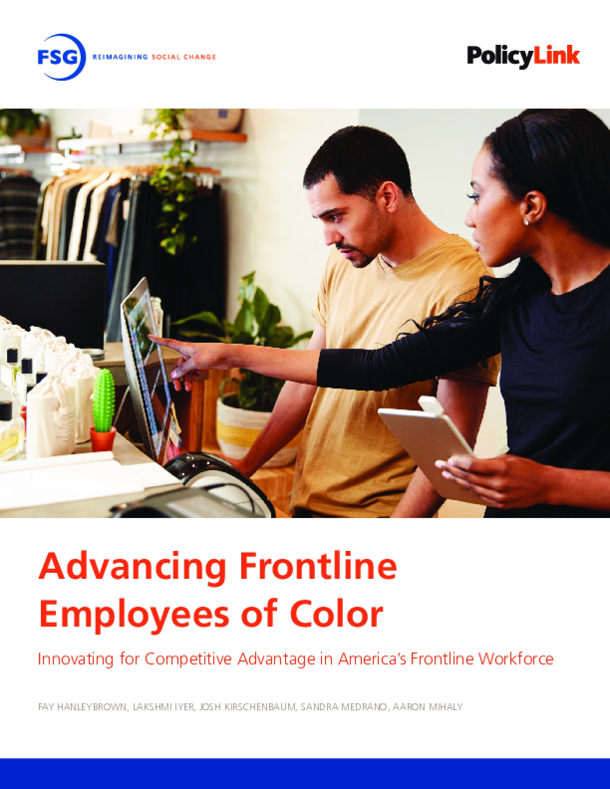 Advancing Frontline Employees of Color