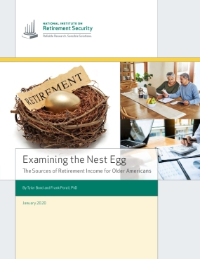 Examining the Nest Egg: The Sources of Retirement Income for Older Americans