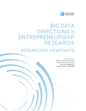 Big Data Directions in Entrepreneurship Research: Researcher Viewpoints